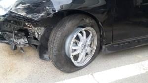 事故 車 破損